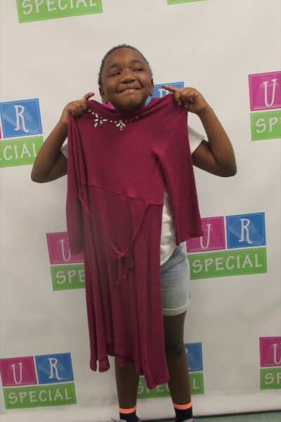 14 - Little girl with new dress