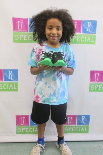 15 - Child with new shoes