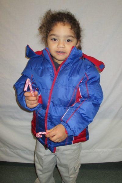 18 - Child with new coat