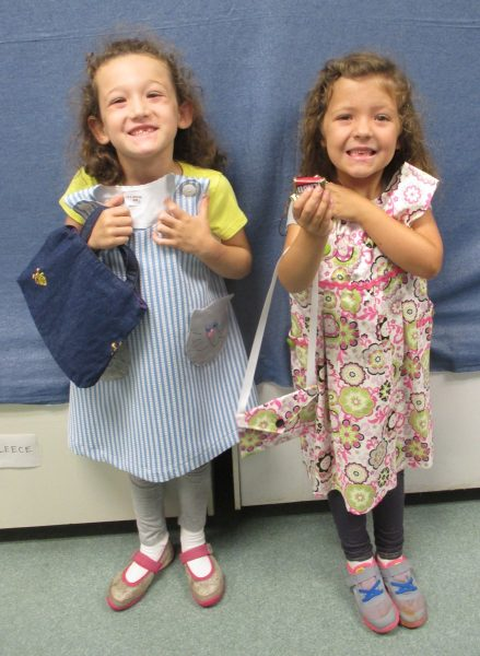 3 - 2 girls with new dresses