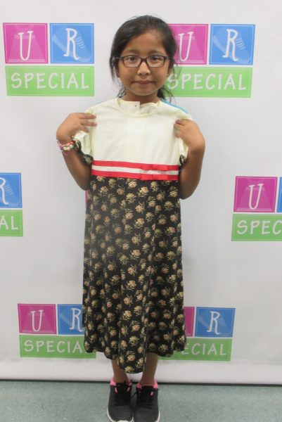 4 - Girl with her new dress