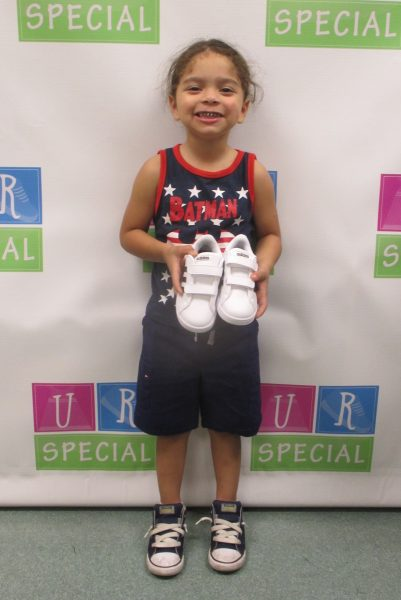 6 - Child with new shoes