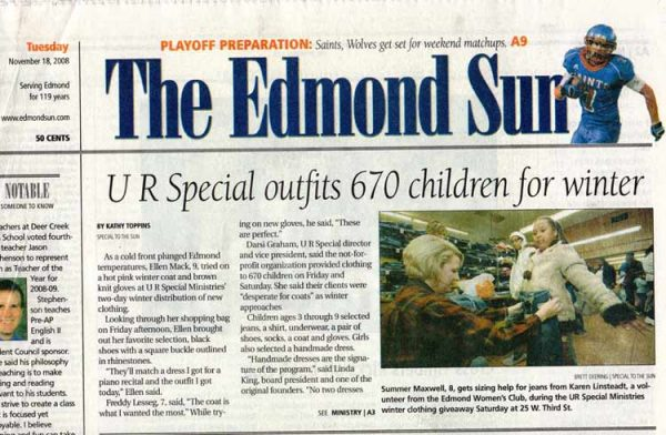 November 18 2008 Edmond Sun